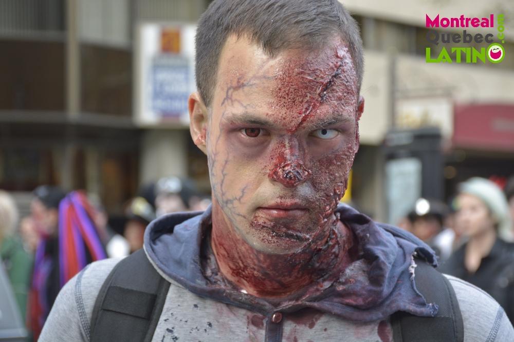 La Caminata Zombie de Montreal